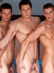 Three hot jocks Brandon, Manuel and Zeke fuck, Added: 2011-09-06 by Bel Ami Online