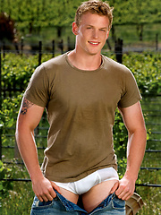 Hot college stud stipping, Added: 2011-09-06 by Colt Studio