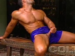 This stud loves his body so much he can't stop touch it!, Added: 2012-07-05 by Colt Studio