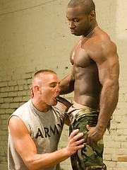Muscle soldiers Kent North, Kyle Lewis, Marc Williams and Nick Horn fuck, Added: 2012-07-04 by Hot House Backroom