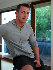 Personal Trainer James Branson - Tall, Muscular, Tanned, Ripped and Hung - Do Men Cum Much Better!, Added: 2012-09-09 by English Lads