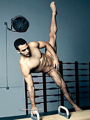 Ruggerbugger have amazing photos of Cuban-American gymnast Danell Leyva naked!, Added: 2012-09-14 by Ruggerbugger