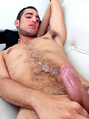Andres strokes dick, Added: 2013-03-05 by Raging Stallion