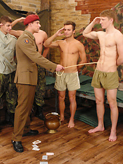 EYoung european soldiers orgy, Added: 2013-06-15 by William Higgins
