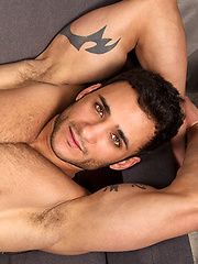 Brunette hottie Rocco shows his muscle body and cock, Added: 2013-10-02 by SeanCody