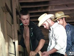 Going West Part 3 - JO - Jizz Orgy - Johnny Rapid - Chris Bines - Cooper Reed - Hunter Page & Jack   King, Added: 2013-12-19 by Men