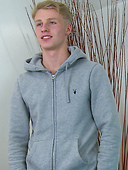 Straight Blond Footballing Ace Ben's First Blow Job From a Man, Added: 2014-01-12 by English Lads