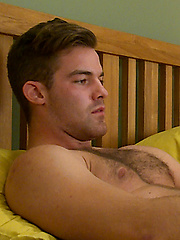 Straight Hairy Travis Shows off His Muscular & Ripped Body & Ultra Hard Uncut Cock!, Added: 2014-03-13 by English Lads