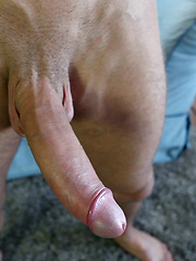 Marco Gagnon strokes his big uncut dick, Added: 2014-08-20 by Squirtz