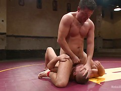 "TOP COCK: Fight for the title of ""Team Captain"", Added: 2015-03-26 by Naked Kombat"