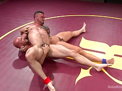 Goliath VS Machine - Which Muscled God Gets His Ass Fucked?!, Added: 2015-08-25 by Naked Kombat