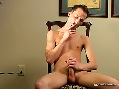 Braden Smoke, Stroke & Poke! - Braden Smoke, Stroke & Poke!, Added: 2015-10-15 by Boys Smoking