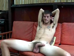 "Killer Cock Kurt: Massive 9"" Twink Pees, Plays Ukulele Naked and Explodes in Solid Streams of Hawaiian Milk!, Added: 2016-02-09 by Island Studs"