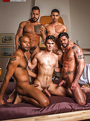 Devin Franco's Bareback Gang Bang, Added: 2016-08-04 by Lucas Entetainment
