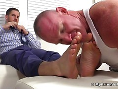 Chance Cruise Makes Dev Worship His Feet - Chance/Dev, Added: 2016-11-22 by Raw Papi