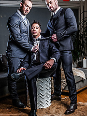 Drae Axtell's Corporate Threesome With Dylan James And Stas Landon, Added: 2017-04-24 by Lucas Entetainment